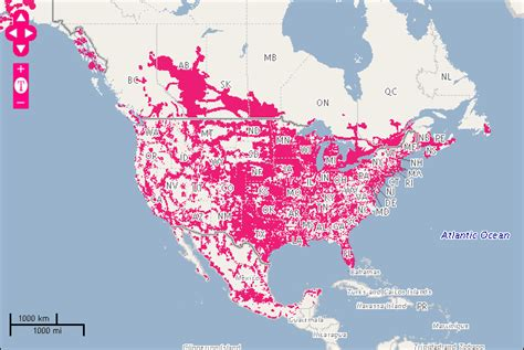 at t coverage map usa at t and t mobile by the numbers cnet