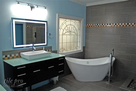 bathroom remodeling atlanta ga black u0026 white master