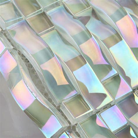 Mother Of Pearl Subway Tile Backsplash - iridescent glass mosaic tile sheets arch kitchen mosaic backsplash designs bravotti com