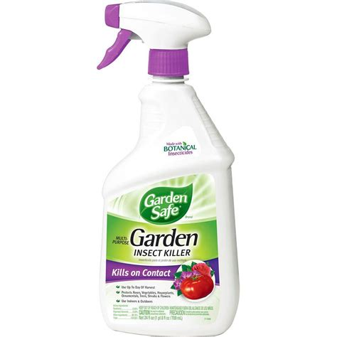 Garden Safe 24 Oz Ready To Use Multipurpose Garden Insect All Bug Spray For Vegetable Garden