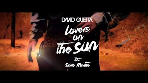 testo lover david guetta on the sun ufficiale nuova