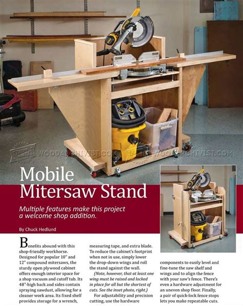 25 Best Ideas About Miter Saw Table On Miter