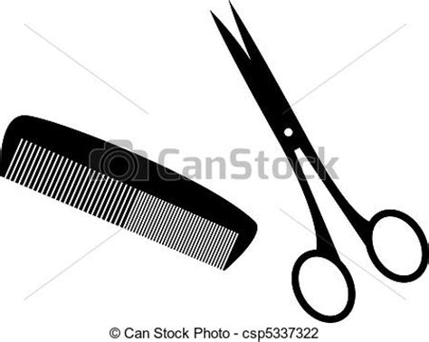 Hairstyle Tools Designs by Black Silhouettes Of Hairstyle Tools Vector Illustration