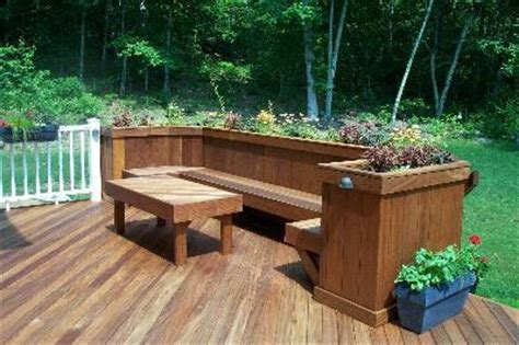 deck bench planter woodworking deck planter bench plans free plans pdf download free cost to build a
