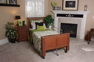 hospital beds for home headboard footboard nightstand set tendercare beds
