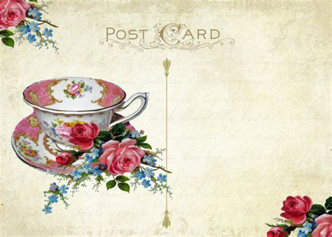 vintage tea party invitation template orderecigsjuice info