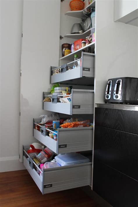 Pantry Cabinet With Drawers by Objex Cabinet Makers Ltd Pantry Drawers