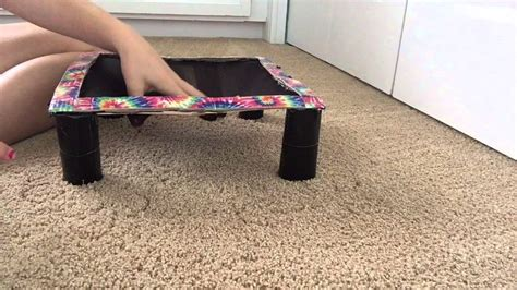 Handmade Kitchen Furniture diy american girl doll trampoline youtube