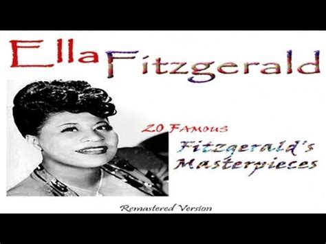ella fitzgerald swing ella fitzgerald sing me a swing song and let me