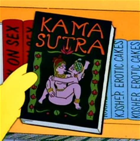 kamsutra book in pictures simpsons wiki