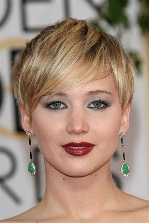 pin jennifer lawrence haircut 2014 short on pinterest jennifer lawrence short hair jennifer lawrence short