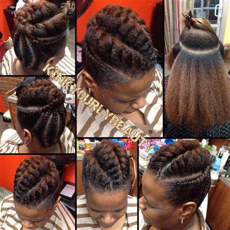 flat twist updo hairstyles for natural hair pretty flat twist updo black hair information community