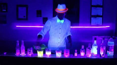 drinks  glow  black lights youtube