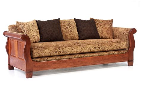 sleigh sofa sleigh sofa ohio hardword upholstered furniture