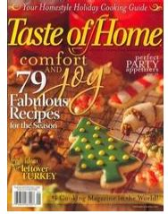 taste of home magazine one year subscription just 3 99