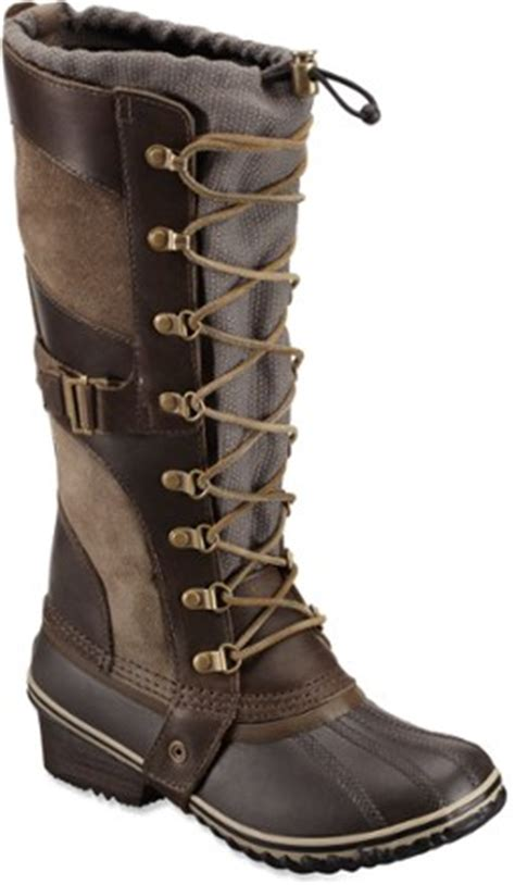 rei winter boots sorel conquest winter boots s at rei