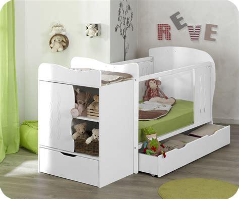 matelas pour lit bebe lit b 233 b 233 233 volutif jooly blanc avec matelas b 233 b 233