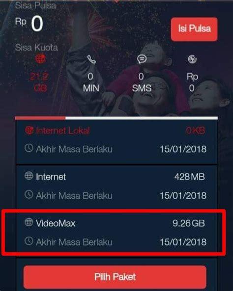 cara videomax di anonytun achi cara agar kuota videomax bisa di gunakan internetan