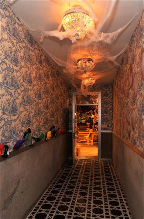 hallway decor halloween   novogratz family lonny