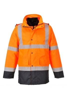 S471 C s471 beeswift hivis 4 in 1 contrast traffic jacket small