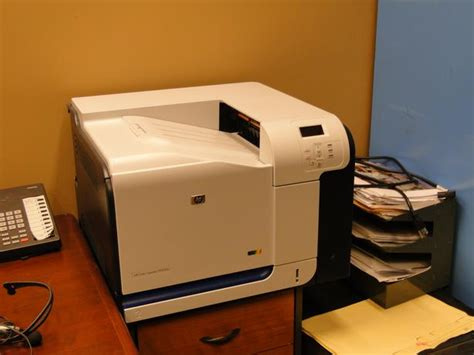 Printer Hp Cp3525n office use heavy duty color printer hp color laserjet