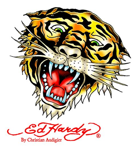 ed hardy tattoos ed hardy tiger ed hardy tiger woo flickr