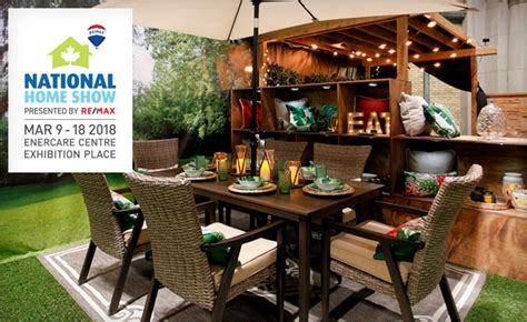home and design show hours 22 for 2 tickets to the national home show canada