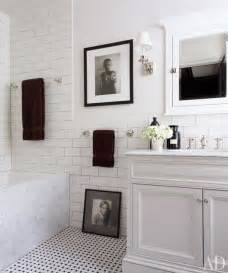 get the look black white bathroom diy decorator