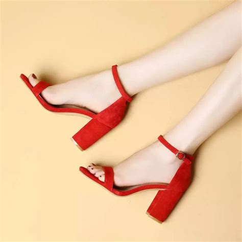 High Heel Afr2301 New Arrival fashion simple style high heel sandal solid color ankle sandals 2017 new arrival wedding