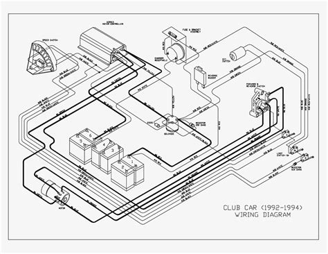wiring diagram for 1996 club car 48 volt wiring diagram