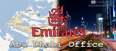 emirates local office emirates abu dhabi office contact phone number address