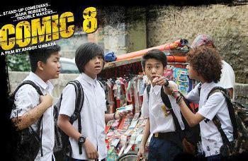 film komedi indonesia comic 8 film coboy junior comic 8 sukses terlaris di indonesia