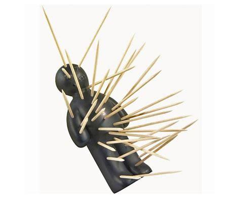 fun vintage retro penguin toothpick holder dispenser tooth pick holders voodoo doll toothpick holder