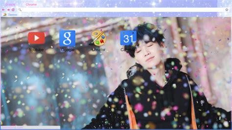 kpop google chrome themes bts suga spring day chrome theme themebeta