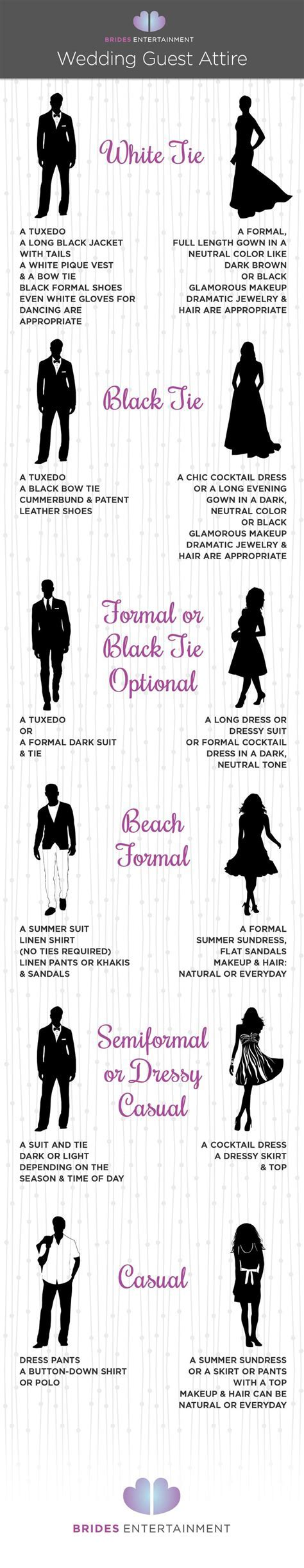 41 Formal Black Tie Optional, A Wedding Dress Code Guide