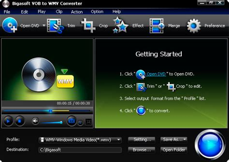format file ps2 vob to wmv converter convert dvd vob to wmv wma on