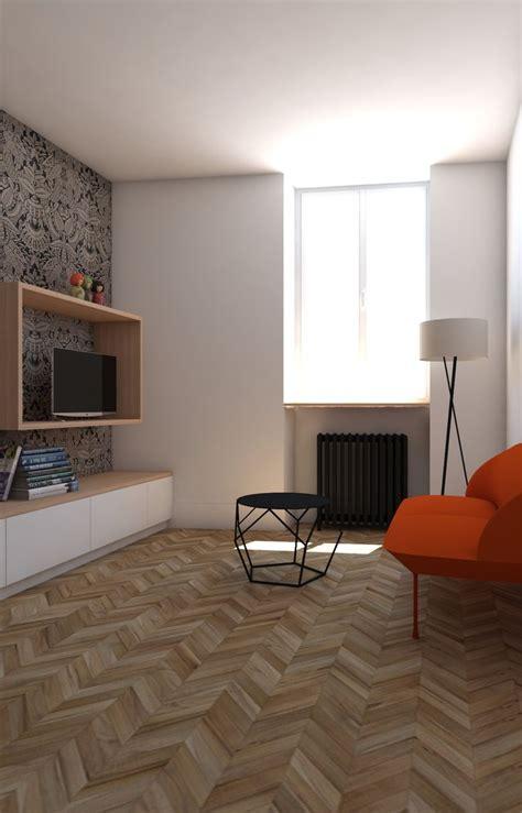 Deco Salon Tv by D 233 Co Salon Petit Salon D 233 Coration Couleur Canap 233 Orange