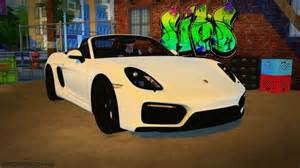 Cars Bedroom Set 2016 Porsche Boxster Gts At Maximss 187 Sims 4 Updates