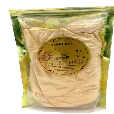Gold Mask Powder 24k gold active mask powder brightening luxury spa