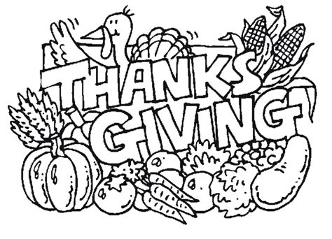 Thankgiving Coloring Pages free printable thanksgiving coloring pages for