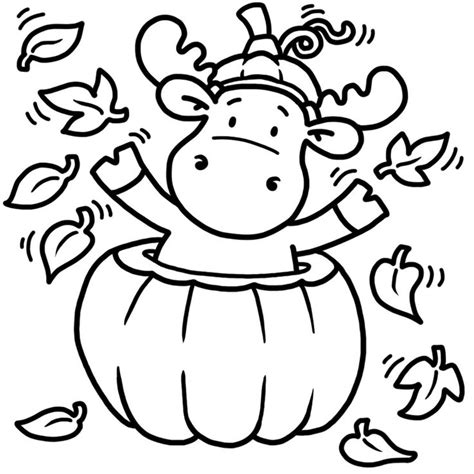cute moose coloring pages cute shirt idea for fall coloring pages pinterest