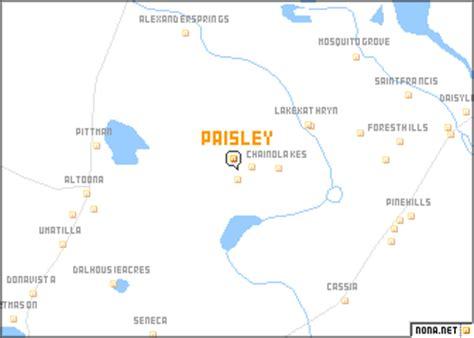 map of paisley paisley united states usa map nona net