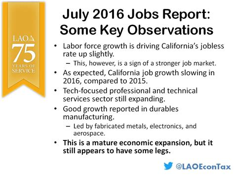 july 2016 state report