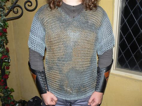 How to make a chainmail shirt