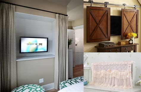 curtains behind tv 8 smart ways to hide your tv wma property