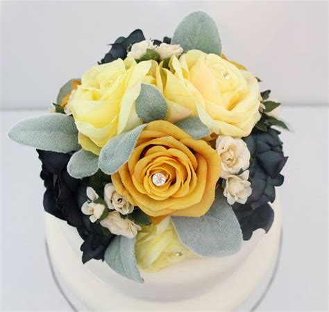 Flower Wedding Cake Tops by 186 Best Images About It Tops The Cake Silk Floral Wedding