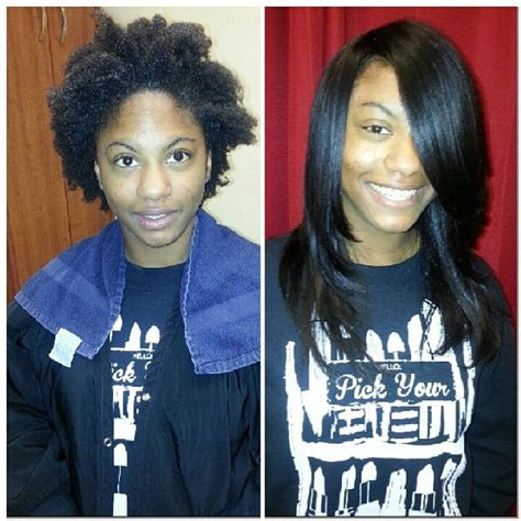 before and after sew in pics before and after full sew in weave yelp
