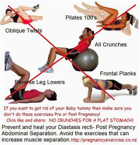 post pregnancy diastasis recti