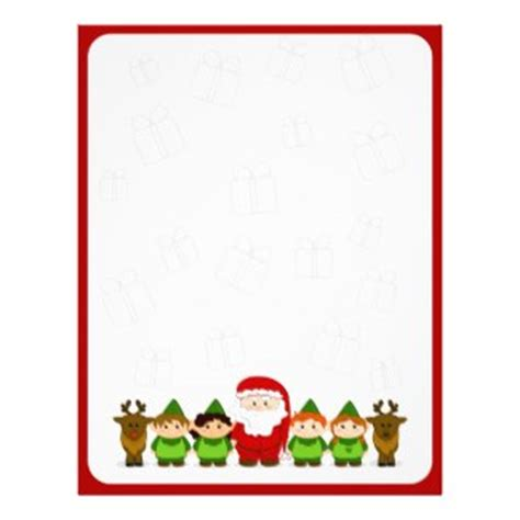 printable elf borders 5 best images of christmas elf writing paper printable