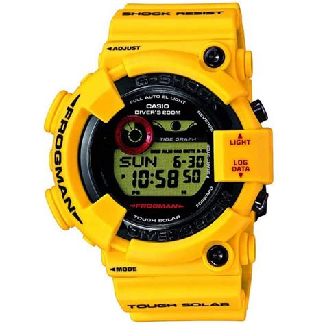 Casio G Shock Gf 8230e 9dr casio g shock frogman 30th yellow solar digital gf